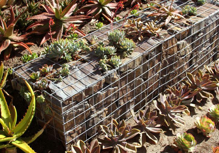 gabbioni per arredo giardinoinerteco - Arredare Il Giardino Con Le Pietre