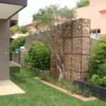 Struttura Ornamentale per Giardini con Gabbioni Metallici