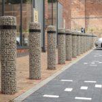 Gabbioni Arredo Urbano passaggi pedonali