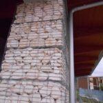 Dettaglio Gabbioni Metallici per Architettura per Pronto Soccorso