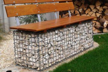 gabbione-panchina-legno-garden-design